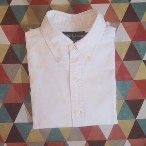 Ralph Lauren Yarmouth 100% Cotton Oxford White